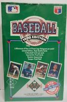 1990 UPPER DECK BASEBALL HIGH SERIES FACTORY SEALED WAX BOX - 36 Sealed Packs
