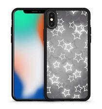 Wonderful White Twinkling Magical Milky Way Stars Pattern Soft Gel Phone Case