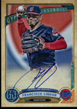 2019  GYPSY QUEEN #GQA-FL FRANCISCO LINDOR ON CARD AUTO CLEVELAND INDIANS