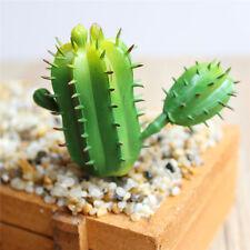 Artificial Succulent Flower Ball-shaped Cactus Plastic Fake Plant Garden Decor