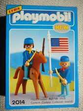 Vintage Playmobil 2014 US 7TH armée soldats GEOBRA Lyra NEW & SEALED!