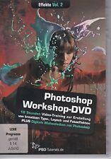 DVD - Photoshop-Workshop-DVD - Effekte für Typo, Layout & Foto - Vol. 2 / #5990