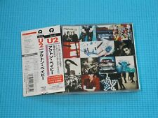U2 Achtung Baby Slightly Thick Jewel Case 1996 OOP CD Japan PHCR-1836 OBI