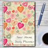 A5 Personalizado DAILY Planificador, LISTA DE DO Lista, diario, programable,