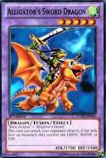 Alligator's Sword Dragon LCJW-EN056  X 3 Common 1st Ed Yugioh