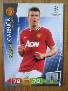 Michael Carrick of Manchester United Champions League 2011/12 base card