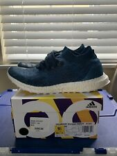 762a16c8d9962 ADIDAS ULTRA BOOST Uncaged Parley Size 9.5 BY3057 Navy Blue Great Condition