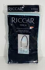 Riccar Genuine Type H Paper Vacuum Bags See Canister Models Below 6 Bags