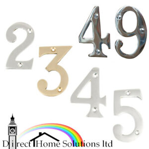 Hafele Modern Design Home Numbers House Door Numerals With Screws