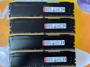 KINGSTON DESKTOP Gaming PC4-17000 32GB (4X8GB) DDR4 2133MHz NON ECC LOW DENSITY