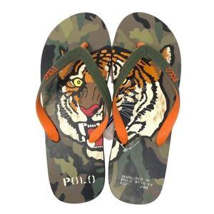 POLO RALPH LAUREN Mens Whitlebury II Tiger Sandals Camo, Sizes 10, 11,12, 13