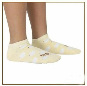 Iconic Cute Sheep in Yellow Background Socks