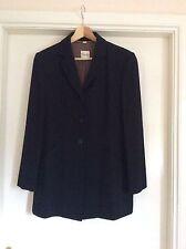 Ladies Viyella tailored jacket, black, petite size 10
