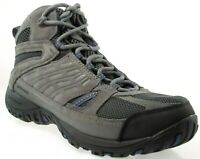COLUMBIA ACCESS POINT MID MEN'S GREY WATERPROOF HIKING BOOTS, YM5296-031