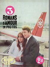 MON FILM SPECIAL 2 CONTIENT 3 ROMANS D'AMOUR 1965 TBE