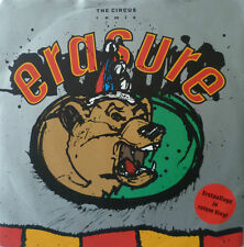 "7"" 1987! Erasure: the circus/Red VINILE MINT -? \"