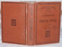 1908 LORIS COMPENDIO DI DIRITTO CIVILE HOEPLI LEGGI