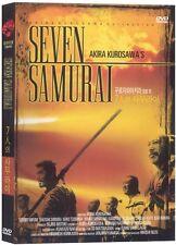 Seven Samurai (region 0) Korean IMPORT - DVD NKVG The Cheap Fast Post