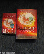 ALLEGIANT SIGNED IN PERSON  VERONICA ROTH 1st/1st HC + MORE!! Shailene Woodley