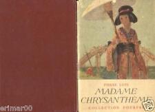 Madame Chrysanthème / Pierre LOTI // Collection Pourpre // Le Japon // 1946