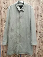 Dunhill men's grey coat wool/polyamide/cashmere size L- XL regular