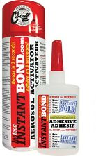 Instantbond Worlds Fastest Instant Adhesive Glue Clear Cyanoacrylate Glue Spray