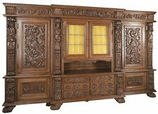Living Room Antique Style Display Cabinets