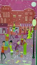 ADVENT CALENDAR SHAG Josh Agle Cool Yule Frameable Art Mid-Century Modern Decor