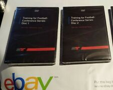NEW Training for Football Conference DVD Disc 1&2 Robert Taylor Smarter Team