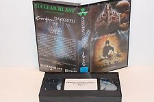 RARE Germany VHS Import (IN FLAMES Darkseed Everett) Live Concert  NUCLEAR BLAST