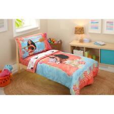 Disney Moana Ocean Spirit 4 Piece Toddler Bedding Set