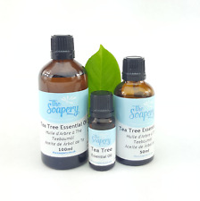 Tea Tree Essential Oil 10ml - 100ml Pure Natural Aromatherapy Undiluted