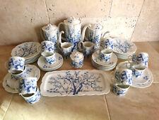 Rosenthal Monbijou 12 Pers KAFFEE SERVICE 43 tlg Ming Asia blauer Bambus