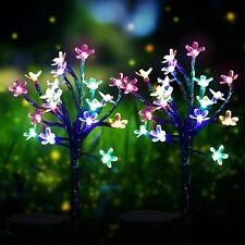 Solar Powered Garden Decorative Lights Outdoor 20LED Fairy Landscape Tree Flower