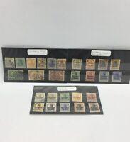 WW I Random Stamps GERMAN OCC, BELGIUM / Poland / Home 1914-1918 AS IS/ Shown 27