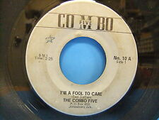 The Combo Five I'm A Fool To Care I'm In The Mood For Love 45 No 10 Jonesboro AR