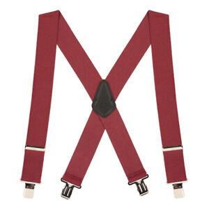 Classic 2-Inch Wide Clip Suspenders