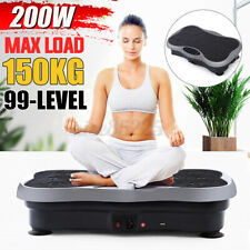 99-Level 200W Exercise Fitness Slim Vibration Platform Machine Trainer Body Gym