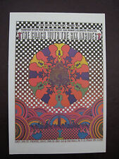 VINTAGE PETER MAX ART POSTER PRINT ~ Coach with the Six Insides & Yoga Nov 1970