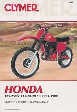 CLYMER REPAIR MANUAL M317 - HONDA CR125 CR250 ELSINORE 1973 - 1980