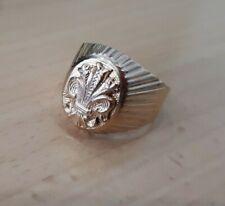 Herren Siegelring Ring Gold 583  Sehr schöne Goldschmiedearbeit GR:64 (20,3 mm)