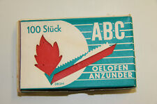 alte ABC Ölofen Anzünder Oelofenanzünder