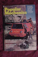 POPULAR MECHANICS Magazine March 1974 BOONIE BUG Chevrolet Luv Ford Courier