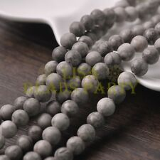 30pcs 8mm Round Natural Stone Loose Gemstone Beads Medical Stone