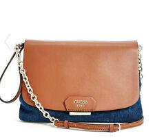 NWT Guess Camylle Crossbody mini Tote purse Handbag Denim Blue