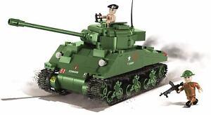 COBI 2515 Sherman Firefly - American Middle Panzertanks Building Bricks