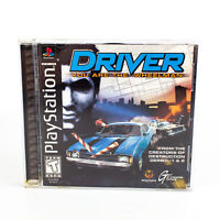 Driver (Sony PlayStation 1, 1999) Black Label Complete