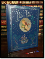 Peter Pan by Barrie New Sealed Leather Bound Illustrated Children's Gift Edition