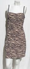 VICTORIA'S SECRET VERY SEXY Nude Animal Print Shaper Padded Bra size M EUC