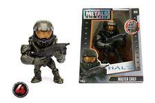 "Halo Master Chief 4"" metalli DIE CAST FIGURA NUOVISSIMO Jada m330"